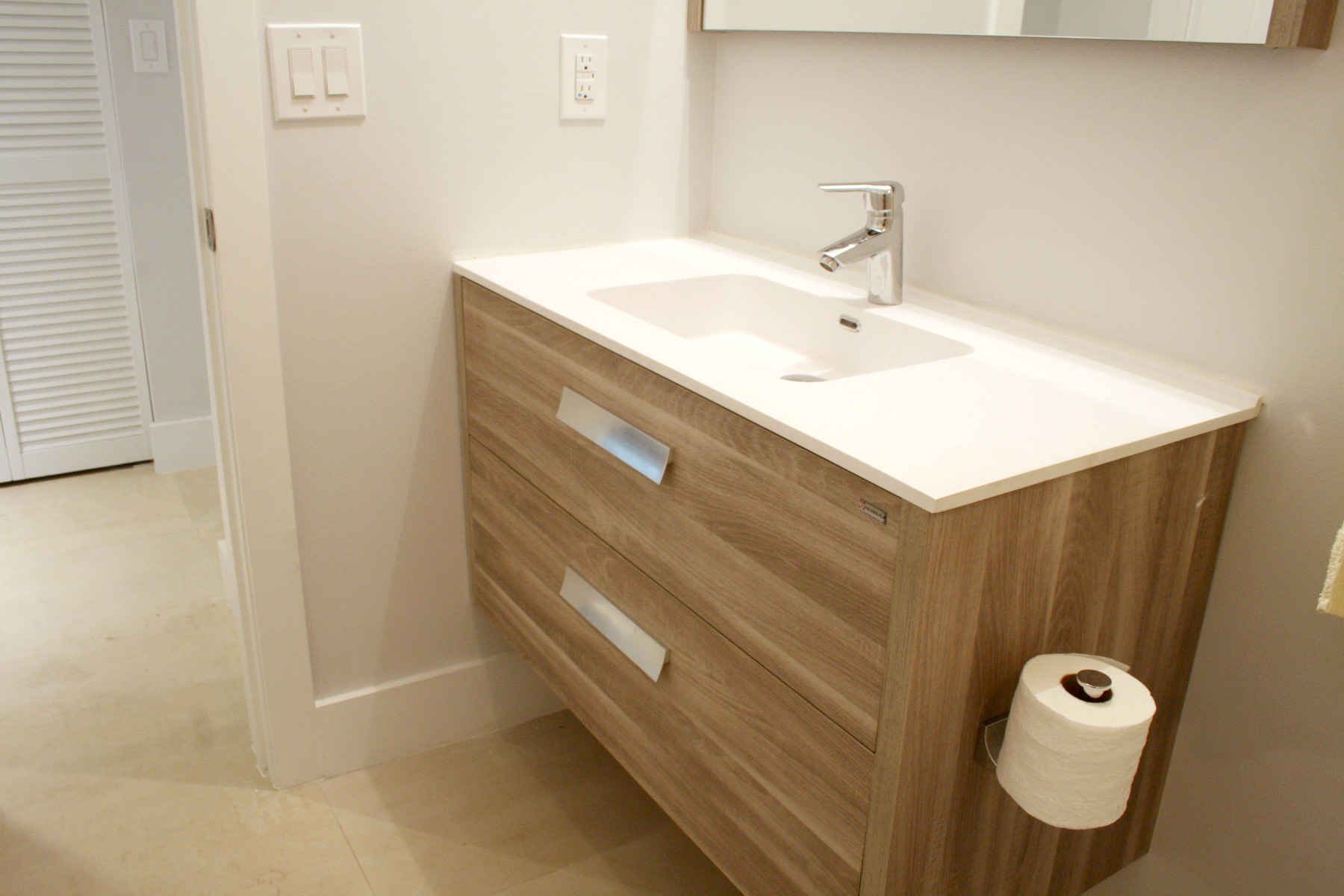 Fullsize Of Wall Mounted Vanity