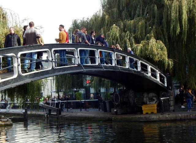 Dylan Filmsbrücke Camden Market