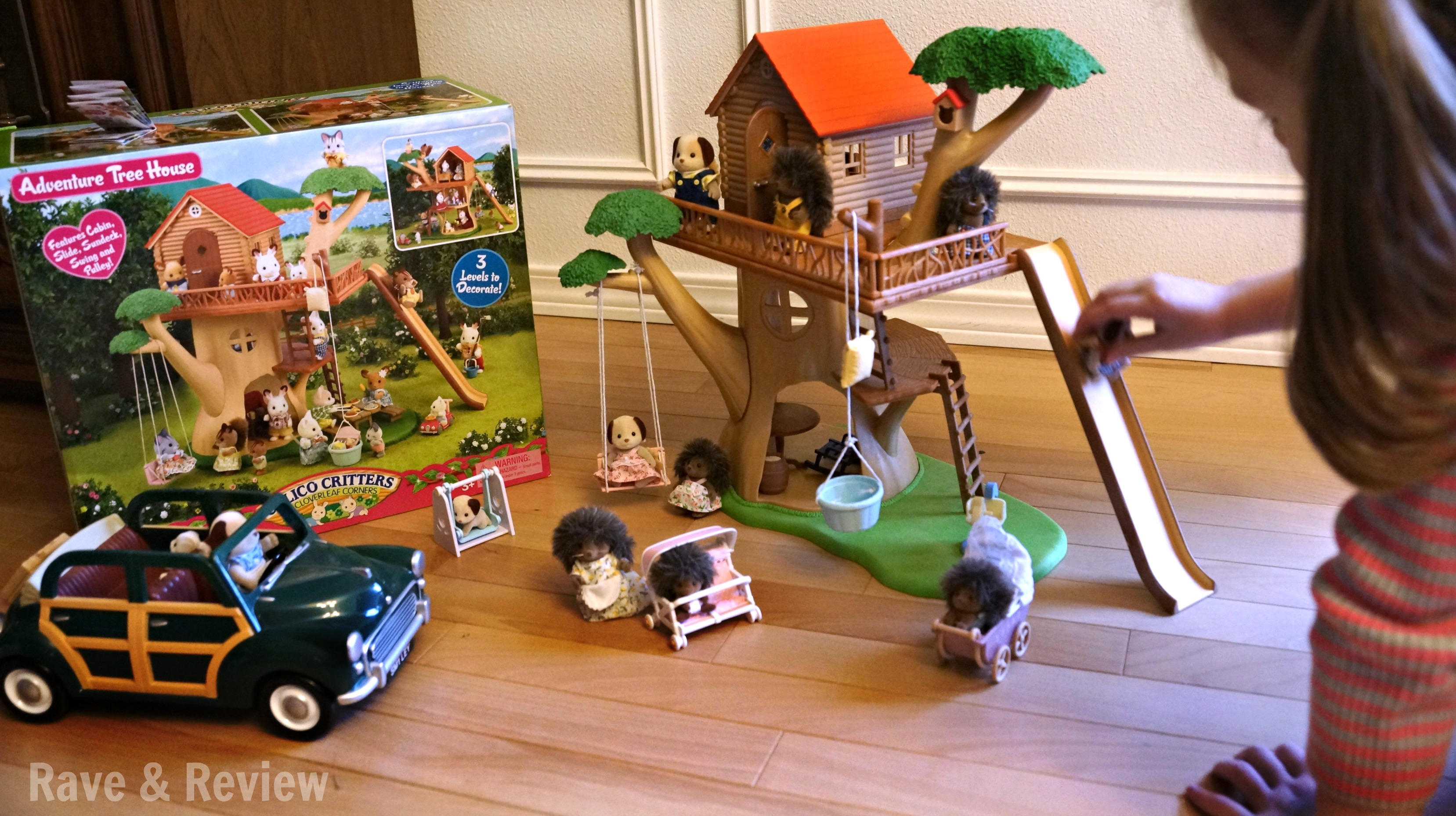 Luxurious Calico Critters Treehouse Want To Be A Gift Giver This Holiday Try Calico Critters Large Treehouse Calico Critters Treehouse Toys R Us baby Calico Critters Treehouse