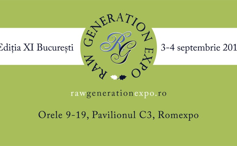 Raw Generation Expo, Editia XI, 3-4 septembrie la Bucuresti