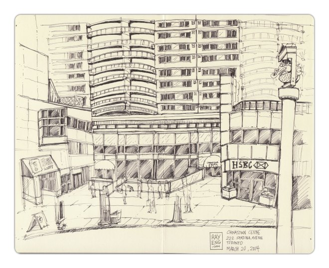 Urban-Sketching-2014-03-Chinatown-Centre