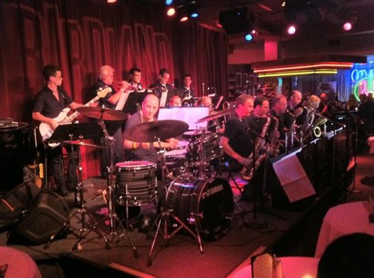 Ray with the Birdland Big Band