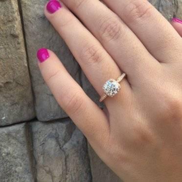 rose gold engagement rings tacori designed rose gold wedding rings rose gold engagement rings tacori
