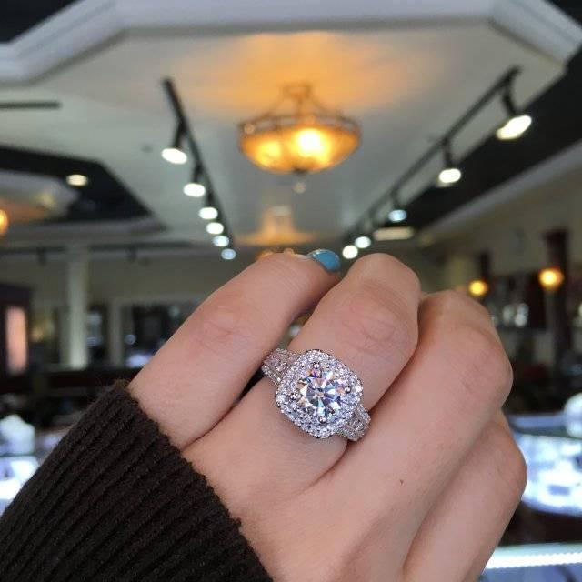 Most Popular Engagement Ring On Pinterest