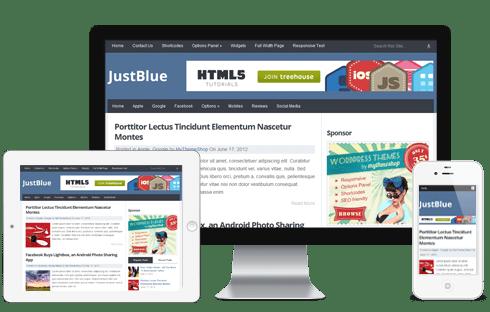 JustBlue-WordPress-Theme