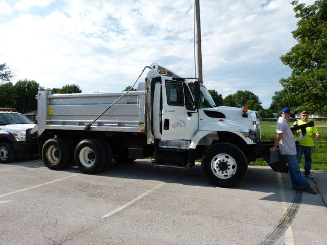 raytown salt truck