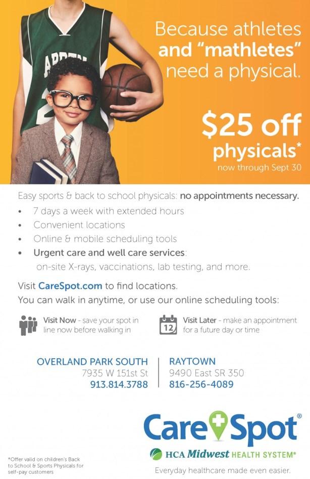 CareSpot Physical Promotion