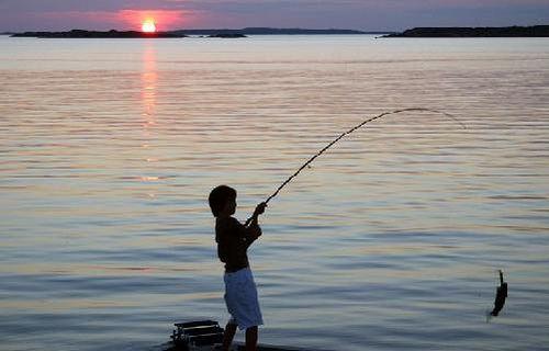 Sitios de pesca que la contaminación no atacó (todavía)