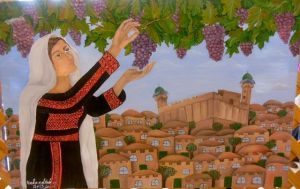 palestina cuadro