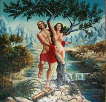 PAG. 7 (1) Las travesuras de Cupido hici eron desdichados a Apolo y a Daphne.