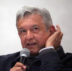 """Andrés Manuel López Obrador. Su partido Morena, """"la única opción de izquierda"""", está contaminado con algunos dirigentes estatales inmorales, dipsómanos y promiscuos."""