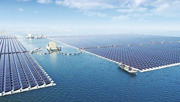 PÁG. 7 (1). El Gobierno chino espera convertirse en el líder mundial en la generación de energía renovable a través de paneles solares. Foto. sungrowpower.