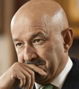 Carlos Salinas de Gortari, su cuñado, Jerónimo Gerard, el dueño de la empresa petrolera que descubrió el pozo que contiene 2 mil millones de barriles de crudo.