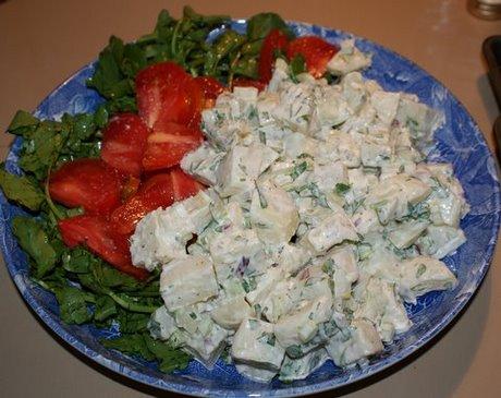 microwaved potatoes for potato salad
