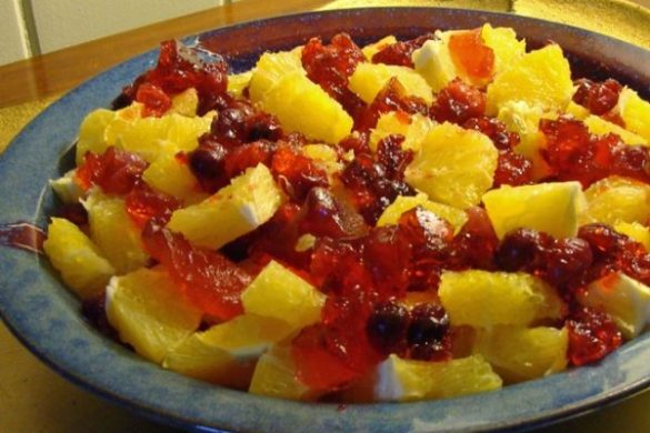 real cranberry gelatin
