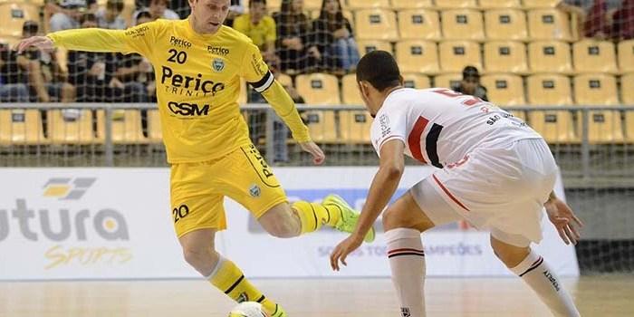 Em Concórdia, Jaraguá Futsal vai em busca da liderança na LNF