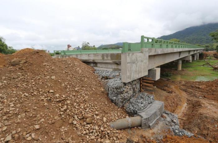Badesc vistoriou obras de acesso à Ponte do Rau