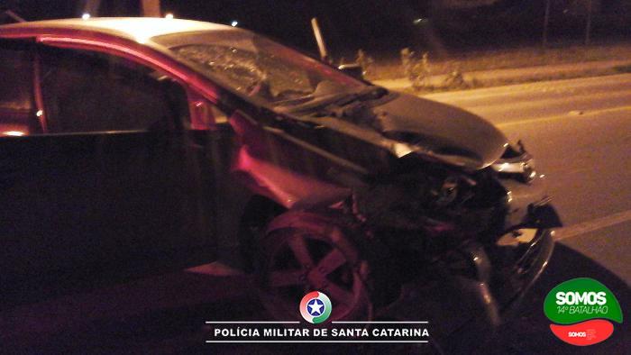 Motorista bêbado causa acidente e mata motociclista em Jaraguá do Sul