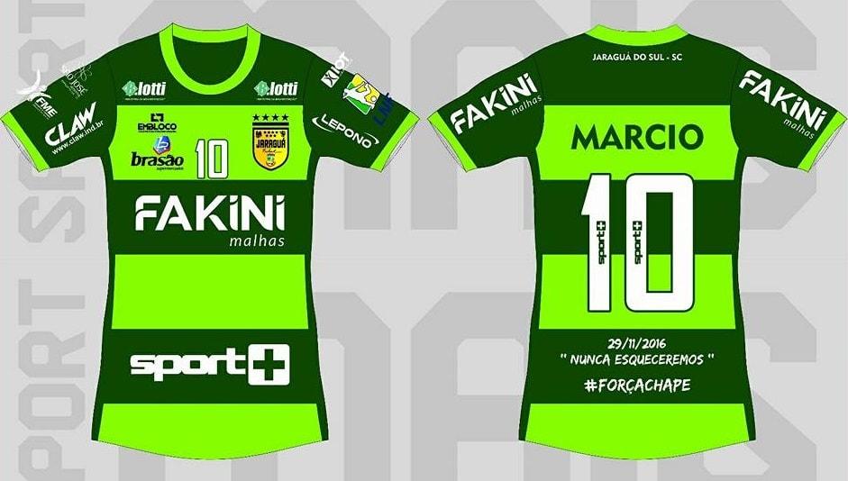 Jaraguá Futsal irá usar uniforme verde no clássico contra o Joinville 0ffc1af0e37c9