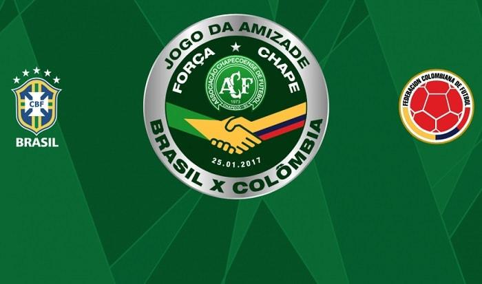 Jogo da Amizade entre Brasil e Colômbia terá renda revertida para a Chapecoense
