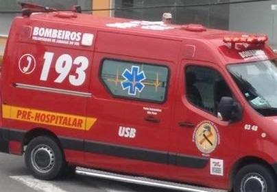 Bombeiros de Jaraguá do Sul socorrem quatro pessoas feridas em acidentes