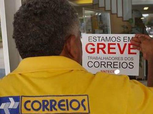 Funcionários dos Correios entram em greve em Santa Catarina