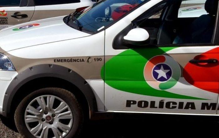 Condutor de carro inicia fuga ao avistar viatura policial em Guaramirim