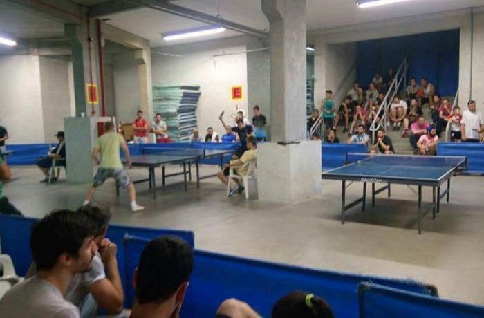 Arena Jaraguá recebe torneio de tênis de mesa