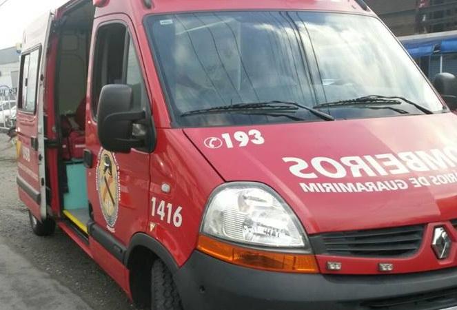 Identificada vítima levada ao hospital após acidente de trabalho em Guaramirim