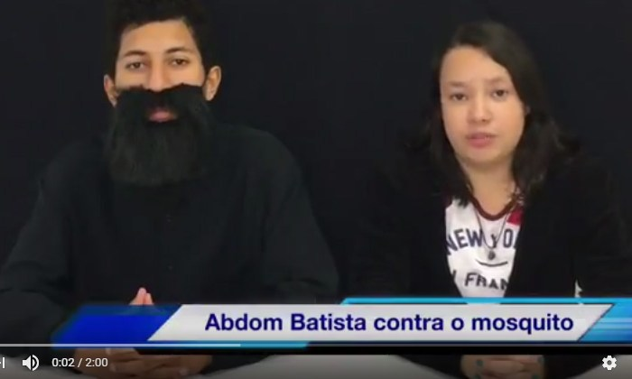 Vídeo de alunos alerta sobre cuidados com o mosquito Aedes aegypti