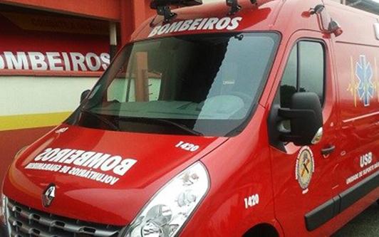 ACIDENTE GRAVE: Ciclista é atropelada por caminhão em Guaramirim