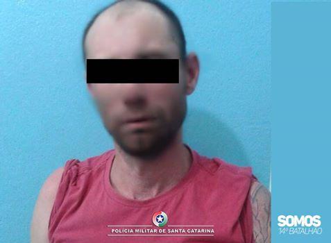 Foragido com 35 boletins de ocorrência é preso em Jaraguá do Sul