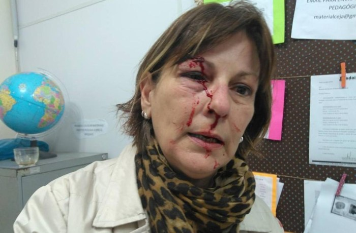 Professora é agredida com socos após repreender aluno em Santa Catarina