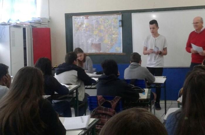 Câmara e escolas de Guaramirim preparam as eleições para os vereadores mirins legislatura 2018