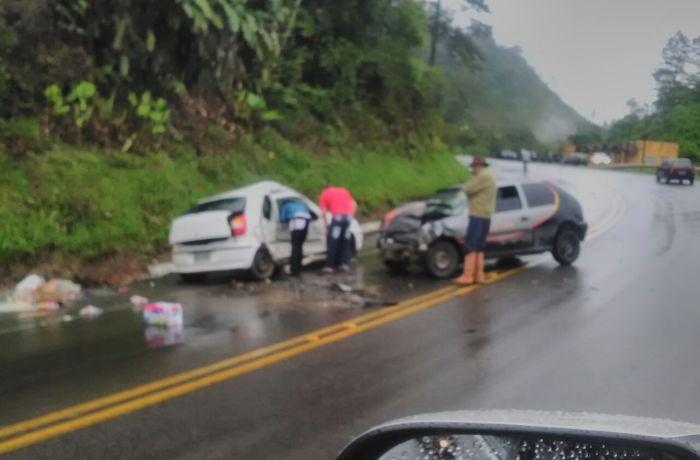 Mãe e filha que morreram em acidente foram sepultadas ontem em Guaramirim