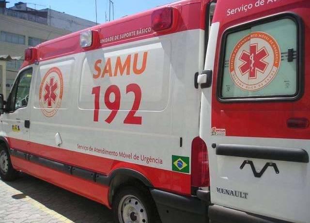 O serviço de atendimento Móvel de Urgência (SAMU) atendeu o acidente de trânsito que deixou um condutor de moto ferido. l Foto ilustrativa