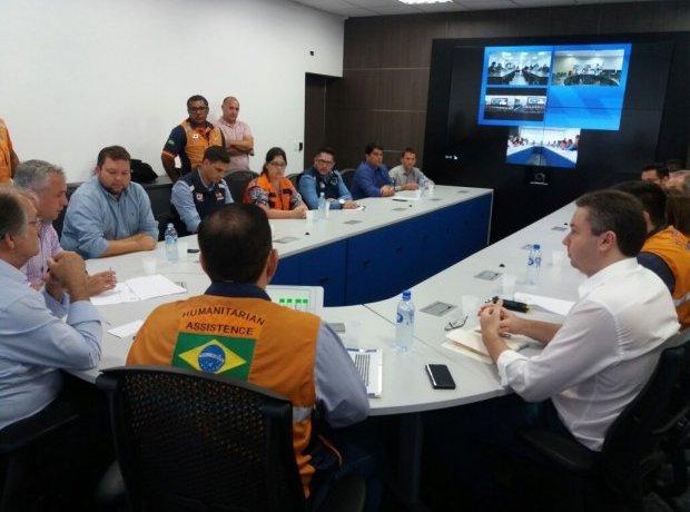 Defesa Civil reúne municípios atingidos pelas chuvas para orientar trabalho de reabilitação e reconstrução