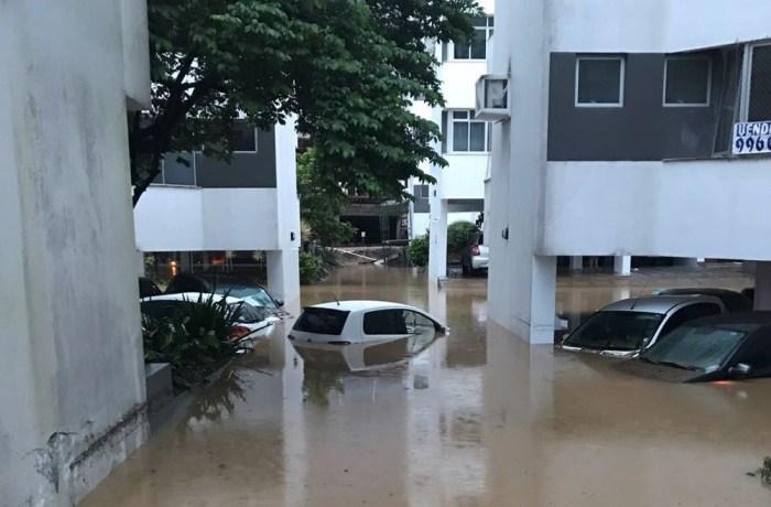 Sobe para 5 o número de cidades de SC que decretaram emergência por causa dos estragos da chuva