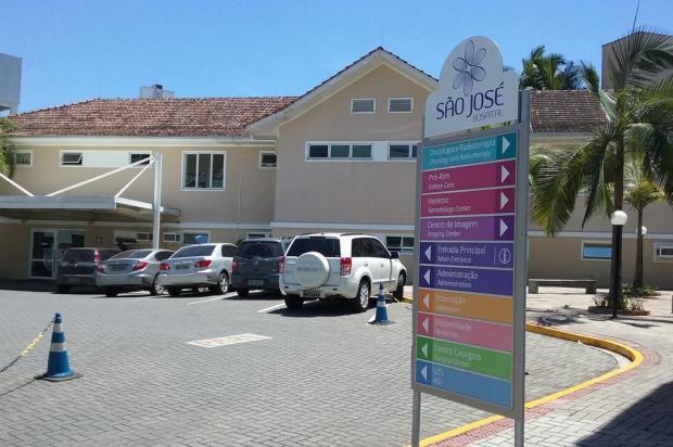Vítima de acidente na Serra de Corupá permanece internada na UTI do Hospital São José