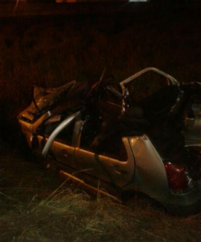 Homem gravemente ferido dirigia um Fiat Palio, de Jaraguá do Sul l Foto: Josiane Bucci/RBN
