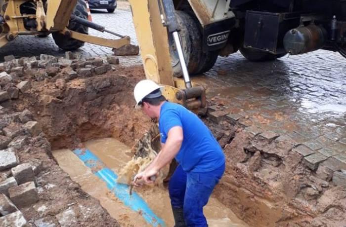 Abastecimento de água em Corupá é interrompido