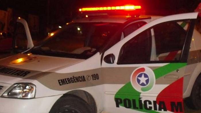 PM acha droga dentro de carro em Jaraguá do Sul