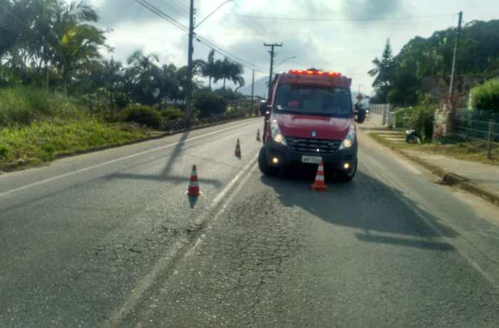 Foto: Bombeiros de Schroeder/Divulgação