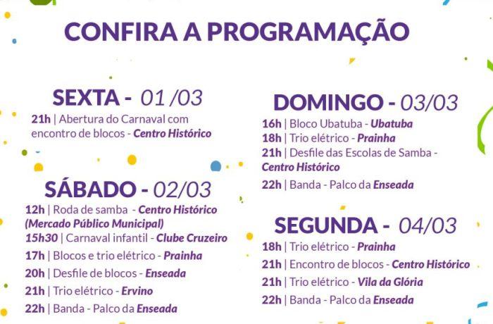 CARNAVAL 2019 SOU + SÃO CHICO: CONFIRA A PROGRAMAÇÃO