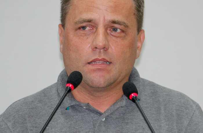 (Presidente dos Bombeiros Voluntários, Foto: Emerson Gonçalves/RBN)