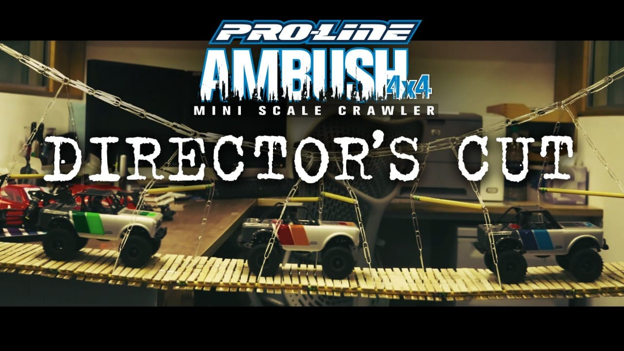 "Now Playing: Pro-Line's ""Director's Cut"" Ambush 4×4 Video"