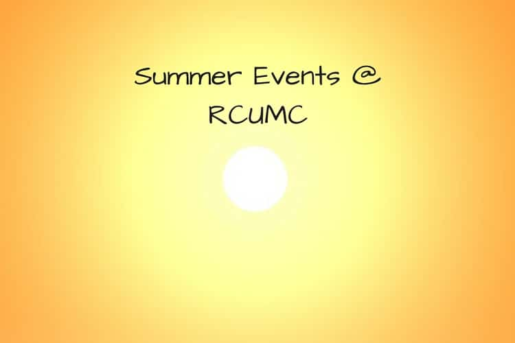Copy of Summer Events @