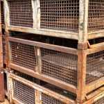 Steel Mesh Baskets 45__x 55__x 24__o_h item 524