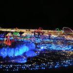 2015年 昭和記念公園のクリスマスシーズンの魅力イルミネーションと花火情報