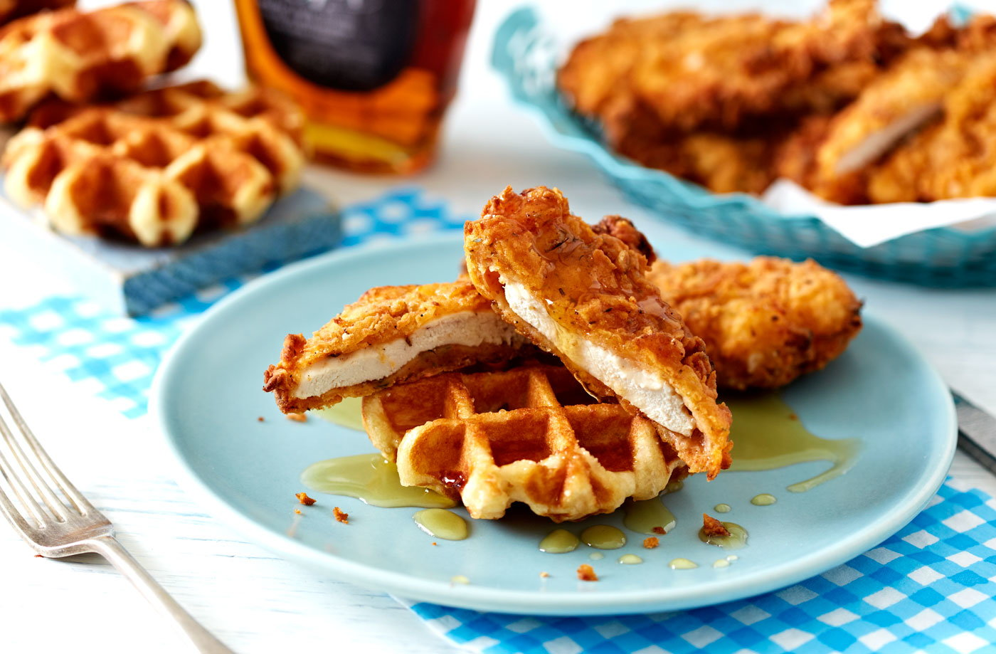 Sightly 05 Buttermilk Ken Gravy Ken Waffles Menu Waffles Lgh C94bb733 3398 49c4 B7ab 51e43545339e 0 1400x919 Ken Waffles nice food Chicken  Waffles